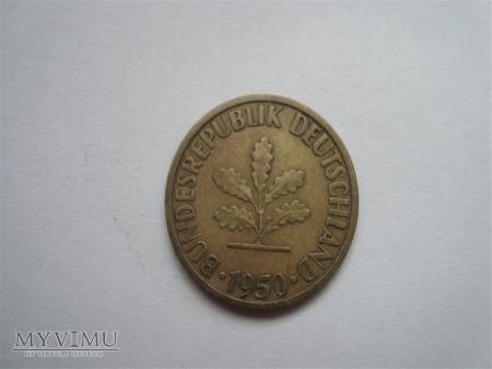 10 pfennig 1950r.