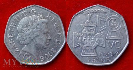 Wielka Brytania, 50 pence 2006