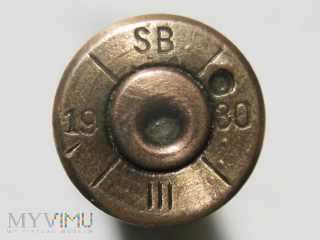 Łuska 7,92x57 Mauser Vz 23 [SB/19/30/III] E P