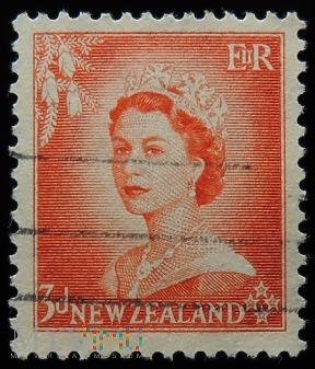 Nowa Zelandia 3 D Elżbieta II