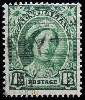 Australia 1 1/2d Elżbieta II