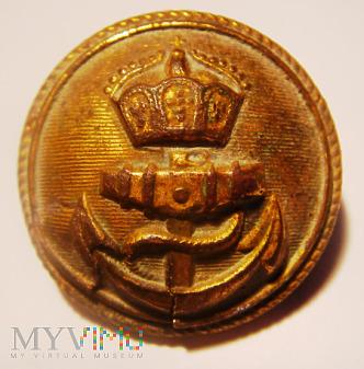 Guzik wojskowy (marynarski) Cesarstwa Niemieckiego