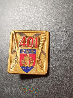 Odznaka 401 Pułku Artylerii Przeciwlotniczej