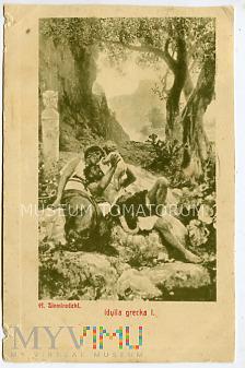 Siemiradzki - Idylla grecka - obieg 1911