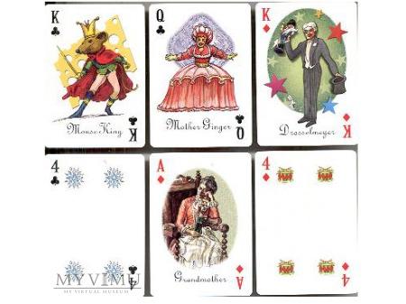Karty do gry - dziadek do orzechów