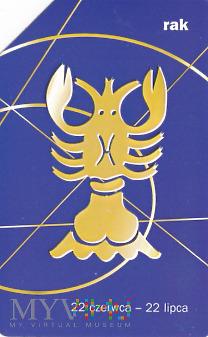 Karta telefoniczna - znak zodiaku rak
