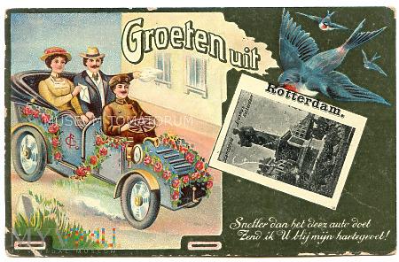 Pozdrowienia z Rotterdamu - 1911