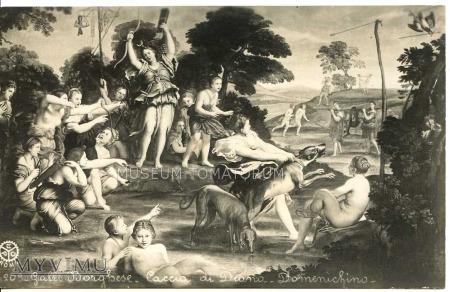 """Domenico Zampieri """"Domenichino"""" - Diana w kąpieli"""