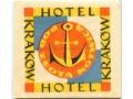 Nalepka hotel - Kraków - Hotel Pod złotą kotwicą