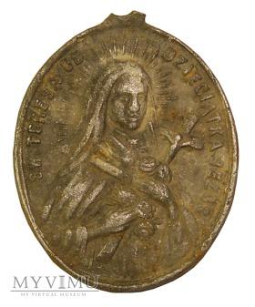 Św.Teresa od Dzieciątka Jezus - medalik aluminiowy