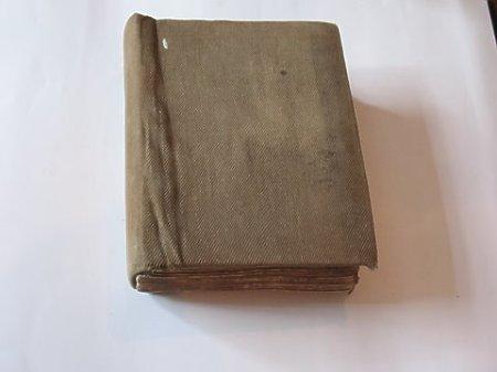 Modlitewnik cerkiewny z Biblijną księgą Psalmów