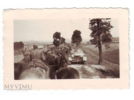 1939. Przemarsz wojska