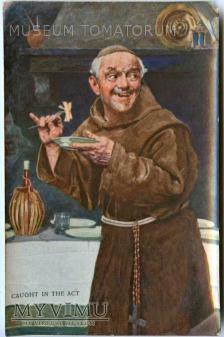 Monk Friar Mönch capucin zakonnik - jadło 3
