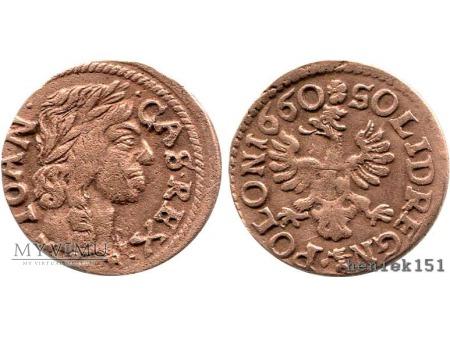 szeląg koronny 1660 11