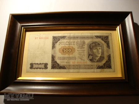 500 zł 1948 s. BT