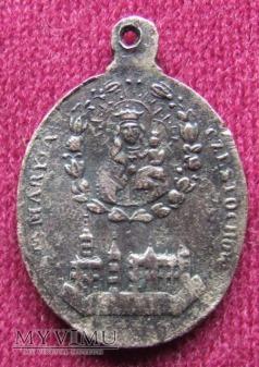 Stary medalik z Częstochowy - ciekawy