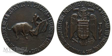 Wyprawa KSM Kraków do Hiszpanii medal 1995