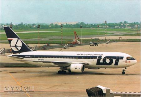 Boeing 767-25D, SP-LOB