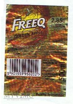 freeq premium beer golden apple