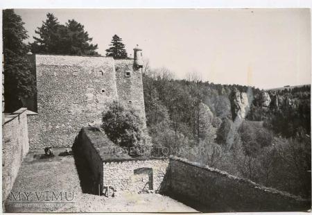 Pieskowa Skała bastion południowy - ok. 1964 r.