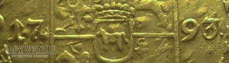 Złotówka 1793 SAP