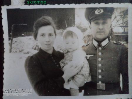 brat Antoniny Łońskiej z żoną i dzieckiem