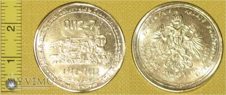 Medal kolejowy parowozu Ol12