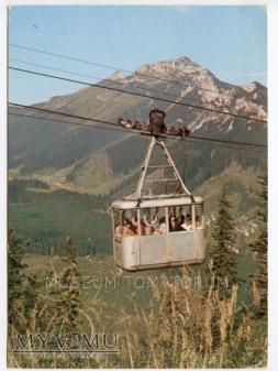 Kolejka na Kasprowy Wierch - Kuźnice lata 70-te