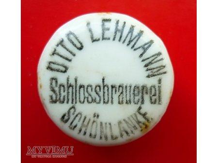 Duże zdjęcie OTTO LEHMANN -okrągła ,czarny napis.