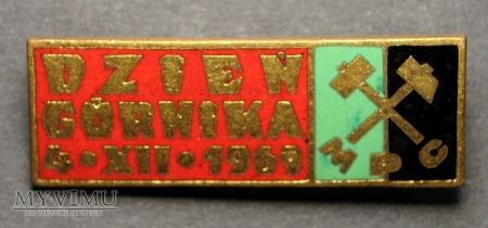DZIEŃ GÓRNIKA 4.XII.1969 - MPC