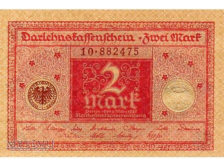 2 Marki 1920 r.