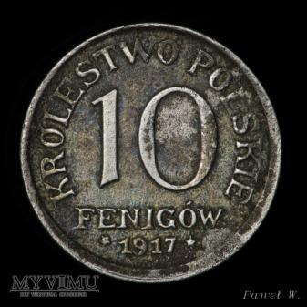 1917 10 fenigów