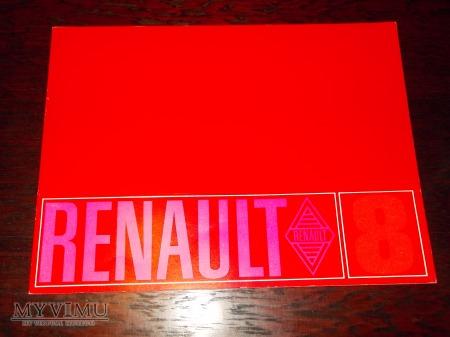 Duże zdjęcie Prospekt RENAULT 8
