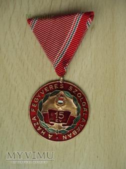 Medal: A haza fegyveres szolgálatában 15 év