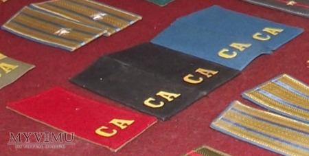 Duże zdjęcie Radzieckie pagony CA