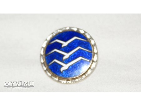 Odznak pilota szbowcowego srebrna