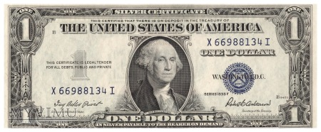 Stany Zjednoczone - 1 dolar (1935)