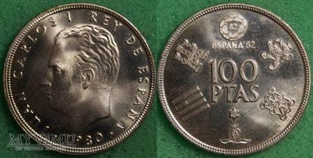 Hiszpania, 100 PESETAS 1980