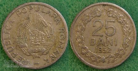 Rumunia, 25 Bani 1952