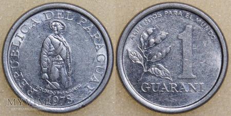 Paragwaj, 1 GUARANI 1978