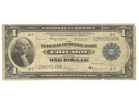 1 USD 1918 CHICAGO