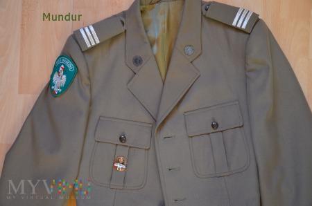 Mundur wyjściowy Straży Granicznej