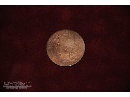 - 10 centymów -1882?