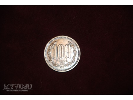 - Chile - 100 Pesos - 1981