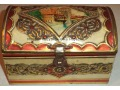 Stara puszka kuferek po słodyczach Nürnberg