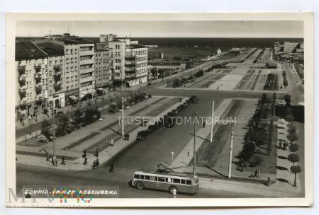Gdynia - Skwer Kościuszki - lata 50-te