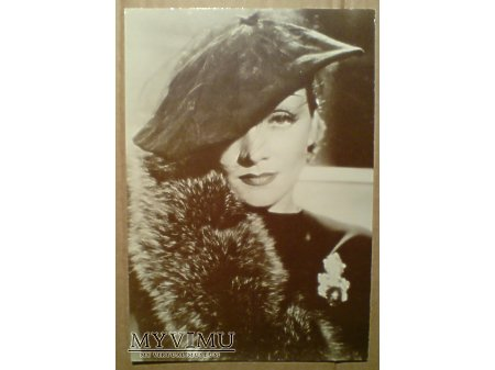 Marlene Dietrich MARLENA foto pocztówka