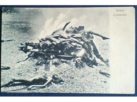 Kremacja w hinduizmie Pochówek spalenie ciał