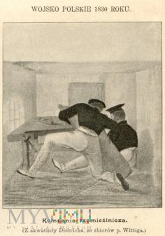 Duże zdjęcie Wojsko polskie 1830 roku - Dietrich