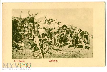 Duże zdjęcie Sokolnik, Józef Brandt, c. 1910